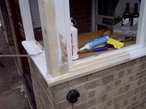 Timber window restoration