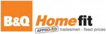 B&Q Homefit Approved Trader