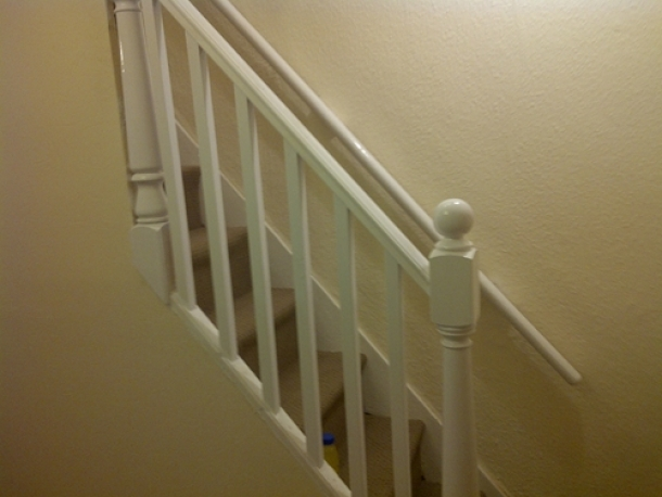 Bannister Painting